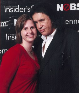 Heather Nelson and Gene Simmons of KISS and Family Jewels